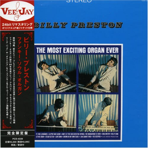 Billy Preston - The Most Exciting Organ Ever - Zortam Music