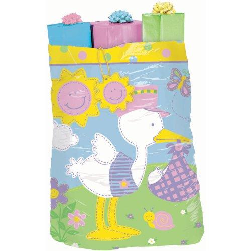 Baby Gift Sack : Giant gift bag huge plastic sack for baby shower