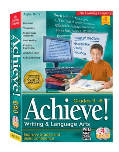 HB Achieve! Language Writing Arts Grades 3rd-6th (PC and Mac)