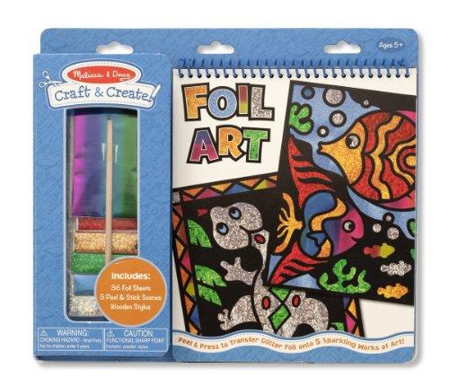 Melissa & Doug Craft and Create Foil Art - 1