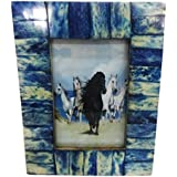 Indian Picture Frame Gift Home Decor Vintage Style Handcrafted Resin Material Antique Photo Frame Table Top Decorative...