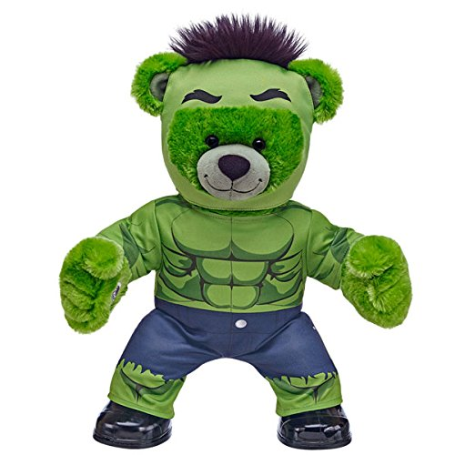 Build a Bear Workshop Hulk Bear in Hulk Costume build a bear workshop promise pets pink dog leash