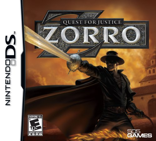 Zorro - Quest for Justice - Nintendo DS - 1