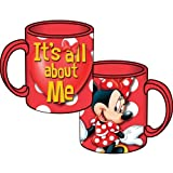 Disney Minnie Mouse It's All About Me 14oz Relief Mug