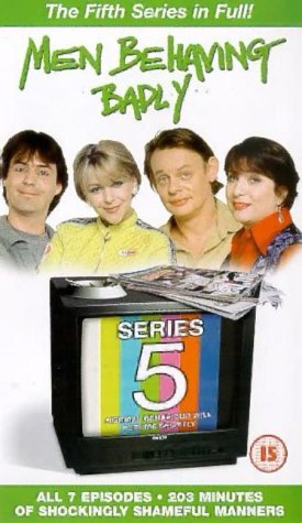 Men Behaving Badly – Complete Series 5 [VHS]