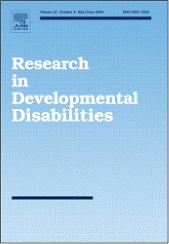 Overselective Stimulus Control In Residential School Students With Intellectual Disabilities [An Article From: Research In Developmental Disabilities]