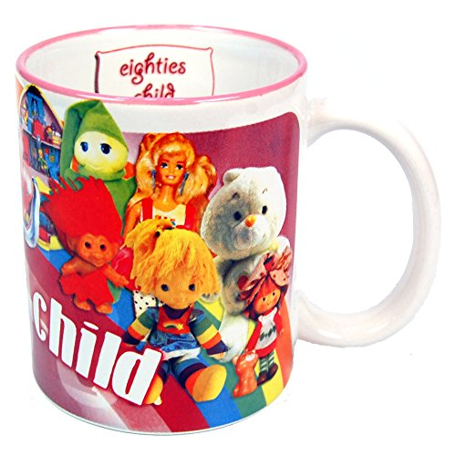 Eighties Child Mug for Ladies. Officially licensed.