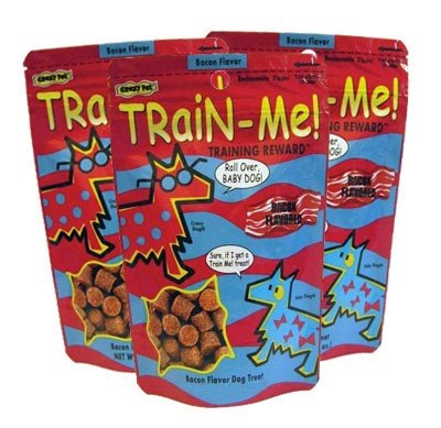 3 PACK Crazy Dog Train-Me! Treats Bacon Flavor (3 lb)3 PACK Crazy Dog Train-Me! Treats Bacon Flavor (3 lb)
