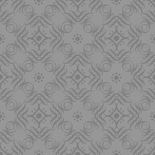 The Gift Wrap Company Deluxe Quality Gift Wrap Roll, Platinum Tendrils front-523889