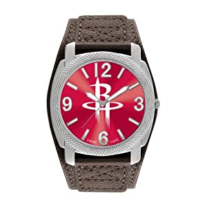 Game Time Mens NBA-DEF-HOU Houston Rockets Defender Analog Display Japanese Quartz... by Game Time