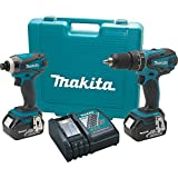 Makita XT211M 18V LXT Lithium-Ion 2-Pc. Cordless Combo Kit with Two 4.0Ah Batteries