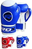 RDX Maya Hide Leather Boxing 6oz Gloves Kids Punch Bag MMA Training Junior Muay Thai Mitts