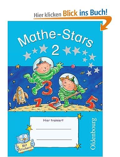Mathe-Stars 2. Schuljahr - Übungsheft: Mit Lösungen [Broschüre]