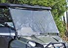 Polaris Ranger Fullsize 500/700/800 Scratch Resistant Full Windshield