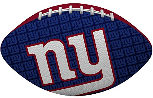 NFL New York Giants Junior Gridiron Football, Blue (Football Ball Nfl compare prices)