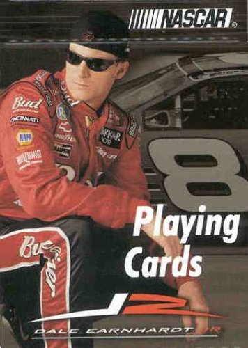 NASCAR Dale Earnhardt Jr Licensed Playing Cards (Portrait)