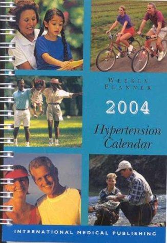 Hypertension Calendar Weekly Planner