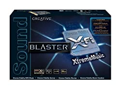 Creative Sound Blaster X-Fi XtremeMusic Card