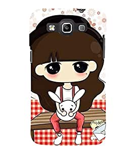 EPICCASE kitty cat Mobile Back Case Cover For Samsung Galaxy Quattro (Designer Case)