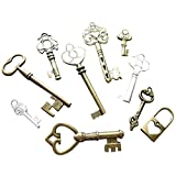 10pcs Steampunk Antique Bronze Brass Tibetan Jewelry Findings Mix Lot 50