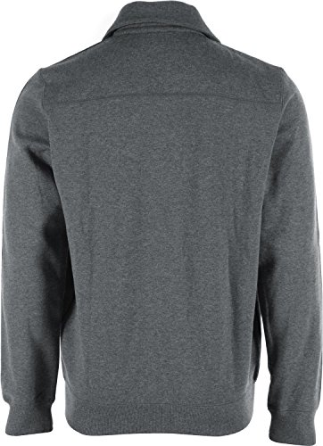 adidas, Maglione Uomo Beckenbauer Track, Grigio (dark grey heather / black), S