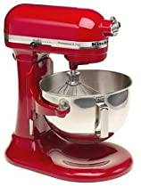Big Sale Remanufactured KitchenAid RKV25G0XER Professional 5 Plus 5-Quart Stand Mixer, Empire Red