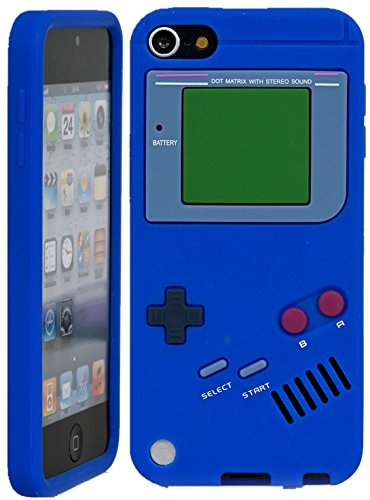iPod Touch, iSee Case (TM) Game Boy Control Silicone Full Cover Case for Apple iPod Touch 6 6th Generation / 5 5th Generation (it6-Gameboy Blue) (Cool Ipod 5th Generation Cases compare prices)