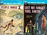 img - for People Minus X / Lest We Forget Thee Earth (Classic Ace Double, D-291) book / textbook / text book