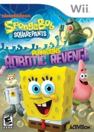 SpongeBob SquarePants: Plankton's Robotic Revenge - Nintendo Wii by Ruksikhao (Planktons Robotic Revenge Wii compare prices)