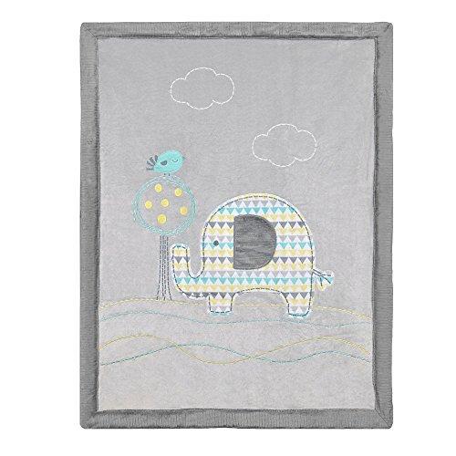 Koala Baby Jumbo Blanket - Elephant Applique - 1