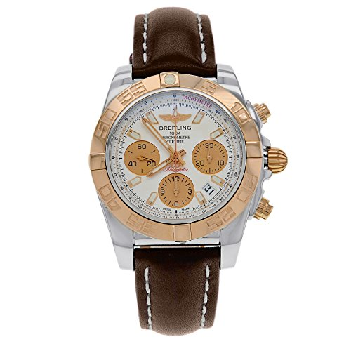 breitling-chronomat-41-silver-dial-brown-leather-mens-watch-cb014012-g713brlt