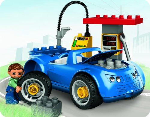 LEGO Duplo 5640 - Tankstelle