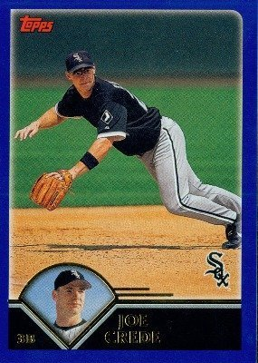 2003 Topps # 507 Joe Crede Chicago White Sox - Baseball Card