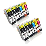 GREENSKY 12 Pack Compatible Ink Car