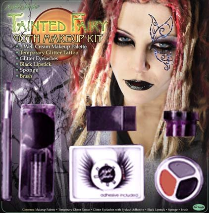 goth makeup designs. goth makeup for men. Fairy Goth Costume Makeup; Fairy Goth Costume Makeup