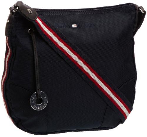 Tommy Hilfiger Womens Savannah Flat Cross-Body Bag