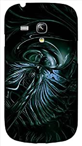 Timpax protective Armor Hard Bumper Back Case Cover. Multicolor printed on 3 Dimensional case with latest & finest graphic design art. Compatible with only Samsung I8190 Galaxy S III mini. Design No :TDZ-20164