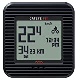 CatEye Fit Wireless Bicycle Computer/Walk Pedometer CC-PD100W (Black)
