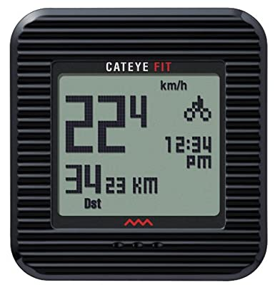 CatEye Fit Wireless Bicycle Computer/Walk Pedometer CC-PD100W (Black) $55.99