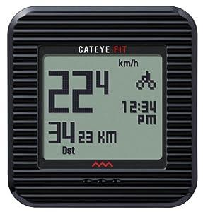 Buy Cateye Fit Wireless Cycling Computer Walking Pedometer by CATEYE