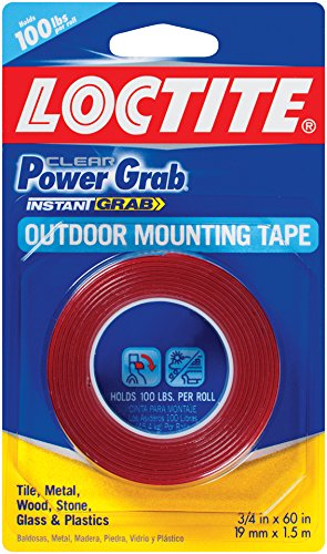 Loctite Power Grab Heavy Duty : Loctite clear power grab outdoor mounting tape inch by