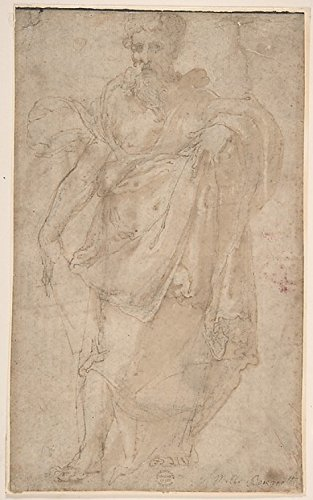 """Figure of a Prophet Poster Print by Anonymous, Italian, 16th century (Italian, active Central Italy, ca. 1550â€""""1580) (18 x 24)"""