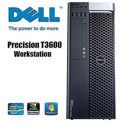 Dell Precision T3600 Workstation - Intel Xeon CPU Quad-Core E5-1620 3.6Gz processor - NVIDIA Quadro 600 - 16GB RAM 1TB HDD Windows 7
