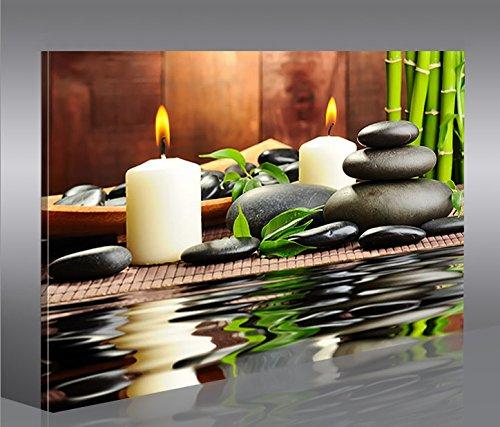 Zen stones 1p tableau sur toile poster tableaux images for Tableau mural zen