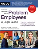 img - for Dealing With Problem Employees: A Legal Guide 4th edition by DelPo Attorney, Amy (2007) Paperback book / textbook / text book