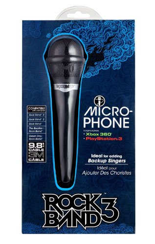 Rock Band 3 Microphone For Xbox 360 And Playstation 3