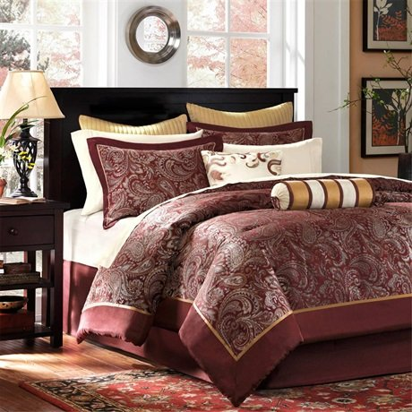 California King Bed Skirt front-999461