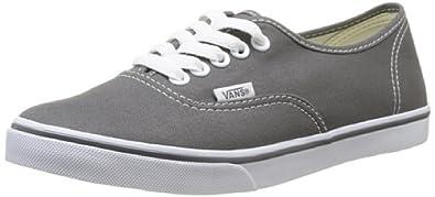 Vans Authentic Lo Pro Unisex-Erwachsene Sneakers, Grau (Pewter/TruWhite 195), 34.5 EU