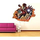 Impression Wall Iron Man 3d Art Wall Poster