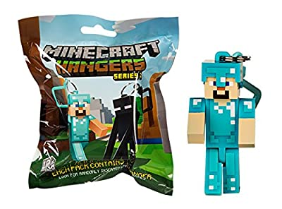J!NX Minecraft Toy Action Figure Hanger Set Kingfansion (3-Inch 10-Piece) Series 2 by USA